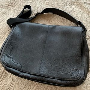 Cartier Men's Saddle Stitch Messenger Bag